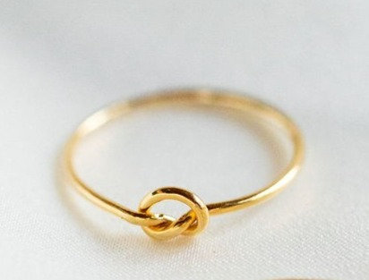 Beatrice Gold-filled knot ring