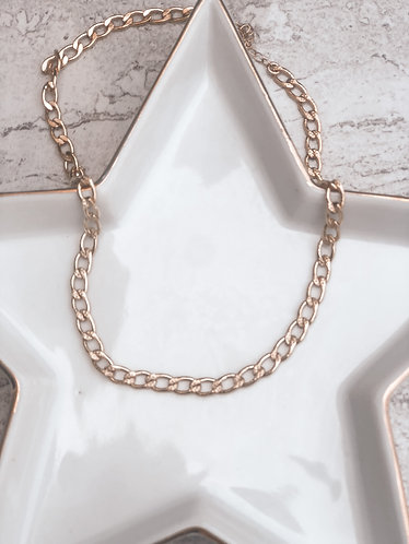 Sharon Cuban-link Necklace