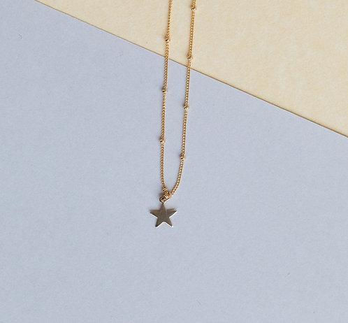 Elliot Star Satellite Ball Chain Choker