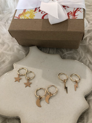 Star, Moon, and Lightning bolts!! Gift Set