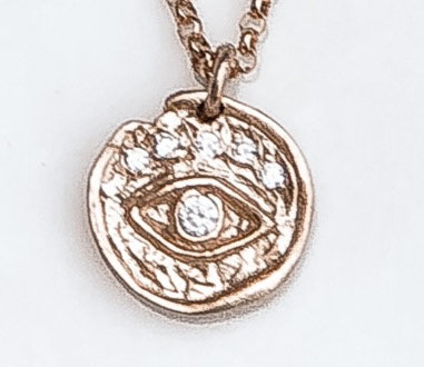 Britney Evil Eye Necklace