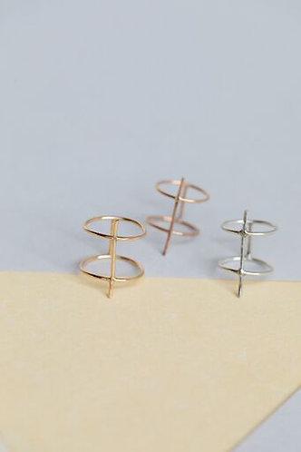 Amara Double Bar Ring