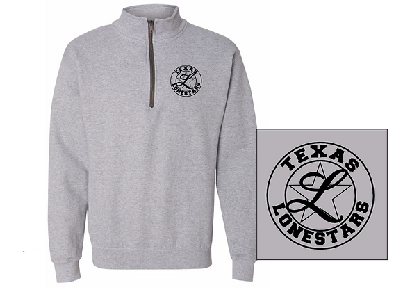 Gray Heather Quarter-Zip
