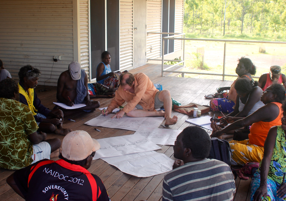 Indigenous Business Development Knowledge Water meeting in early stages