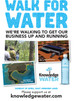 Walk for Water to end crowd funding with a splash!