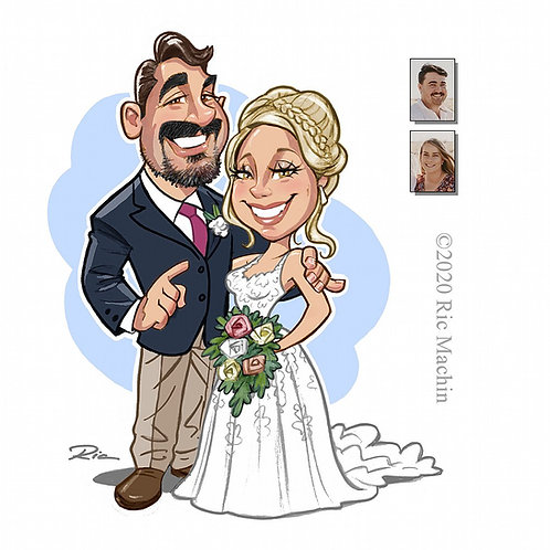 Wedding Art from Photos
