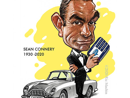 Sir Sean Connery 1930 -2020