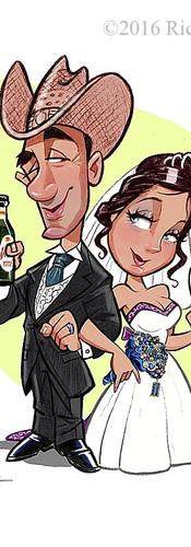 WEDDING CARICATURE ART