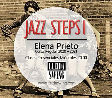 Cartel Jazz Steps I Curso Regular 20-21.
