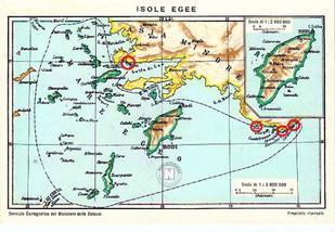 ITALIAN OFFICIAL MAPS OF GREEK ISLANDS. Κατατοπιστικό άρθρο αναφορικά με την Συνθήκη της Λωζάννης κα