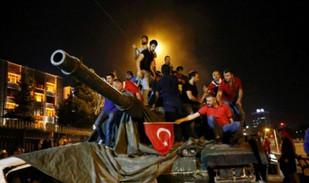 Το αποτυχημένο πραξικόπημα στην Τουρκία το 2016