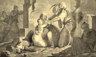 Σφαγές των Χριστιανών από τους Τούρκους στην Κρήτη.