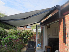 Awning With Bungalow Brackets