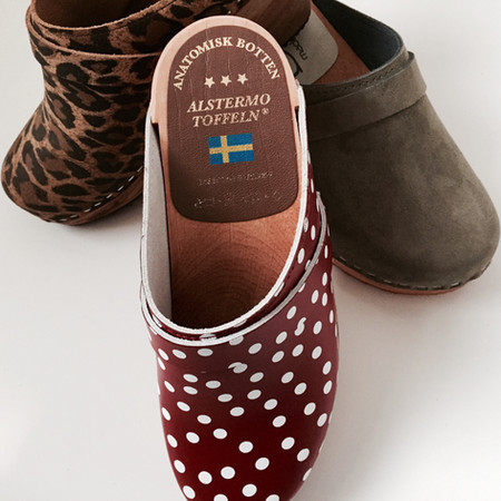 hand made Swedish clogs