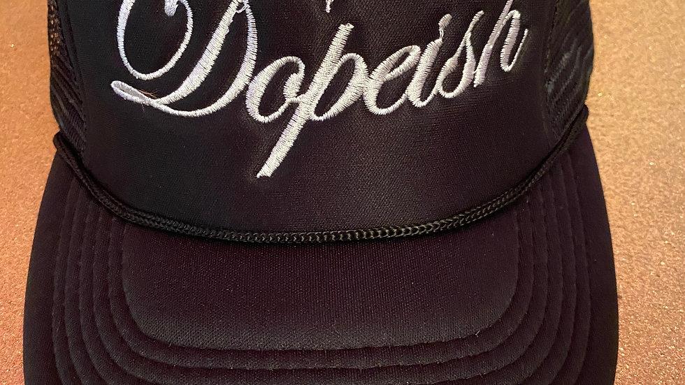 Black Dopeish Hat