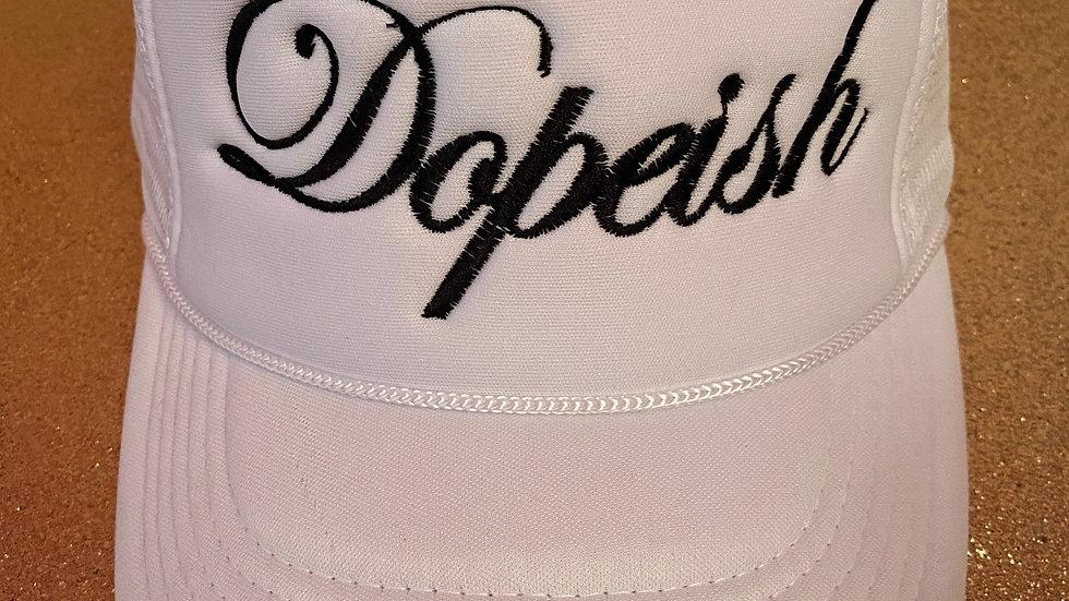 White Dopeish Hat