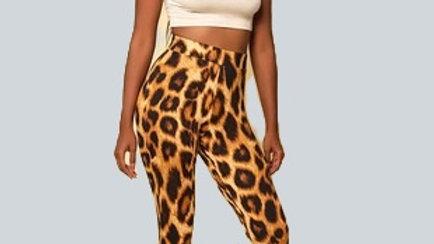 Leopard High Waist Leggings