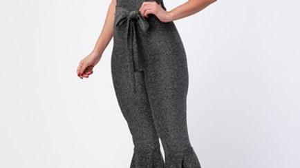 Belted Pants Jumpsuit