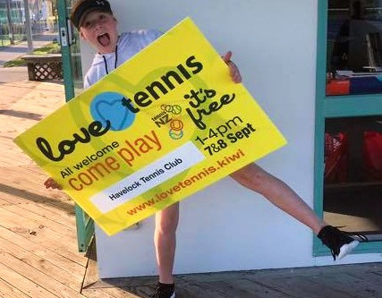 Love Tennis a smash hit for Havelock North club