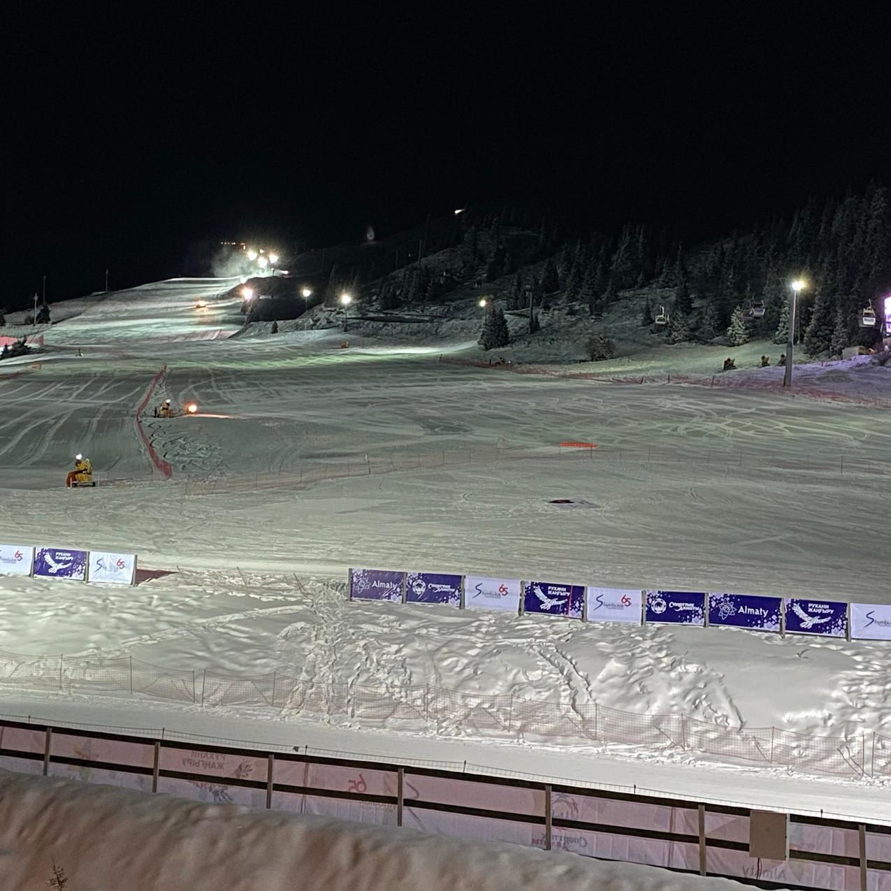 Ski Lodge View