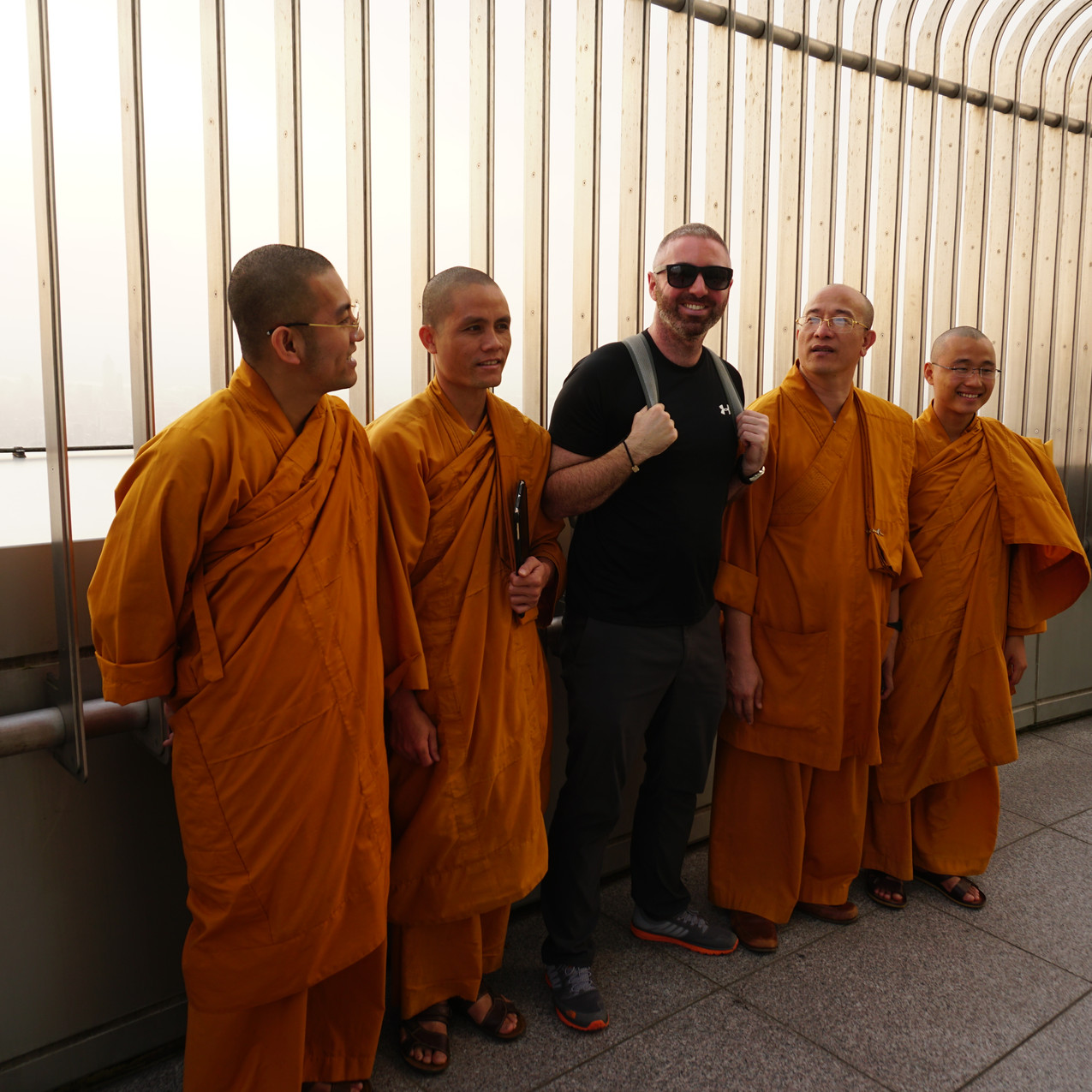 Meeting Monks