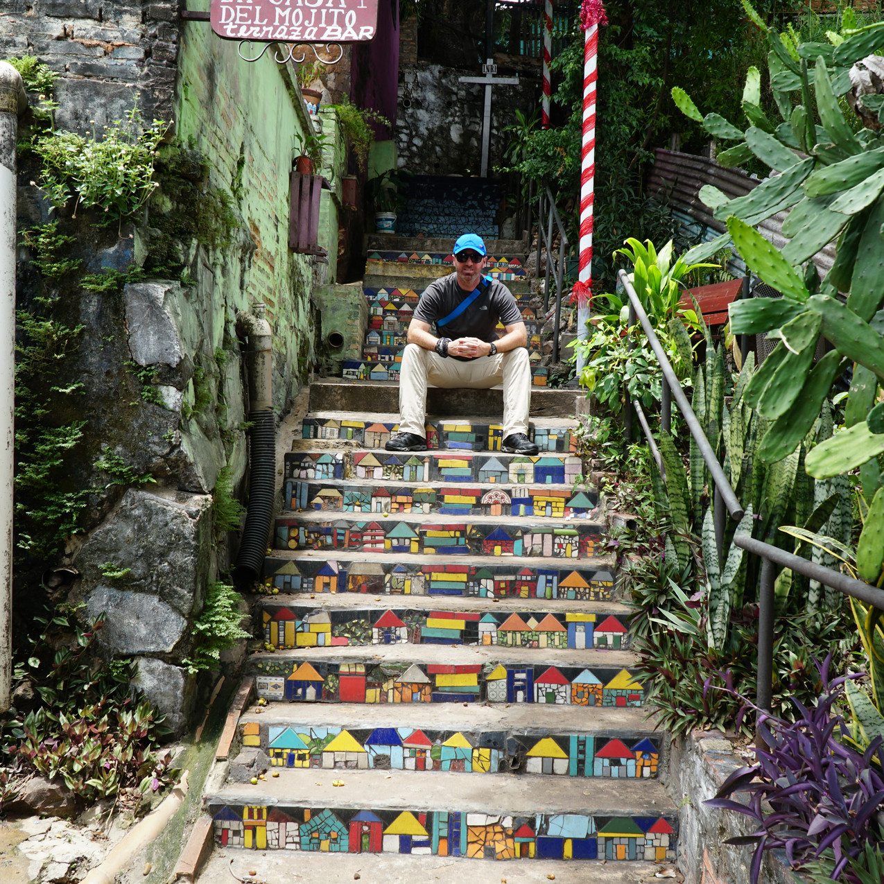 Colourful Steps!