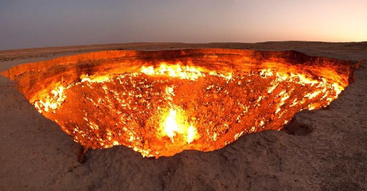 Turkmenistan - The Gateway to Hell