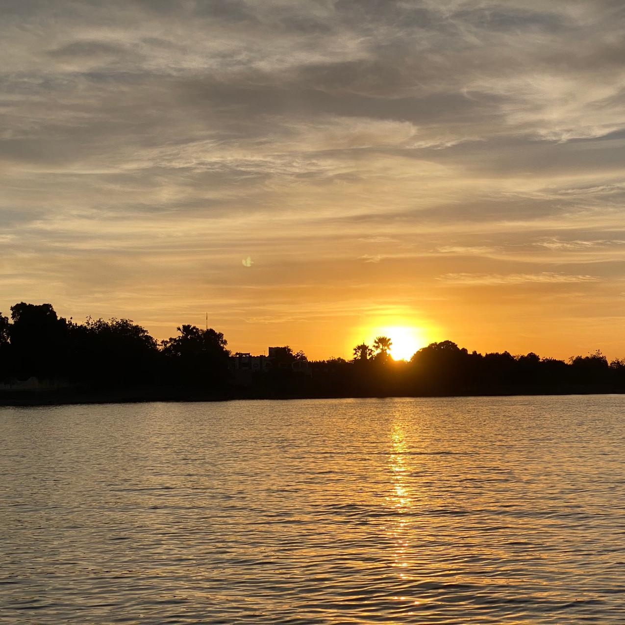 Sunset Riverboat