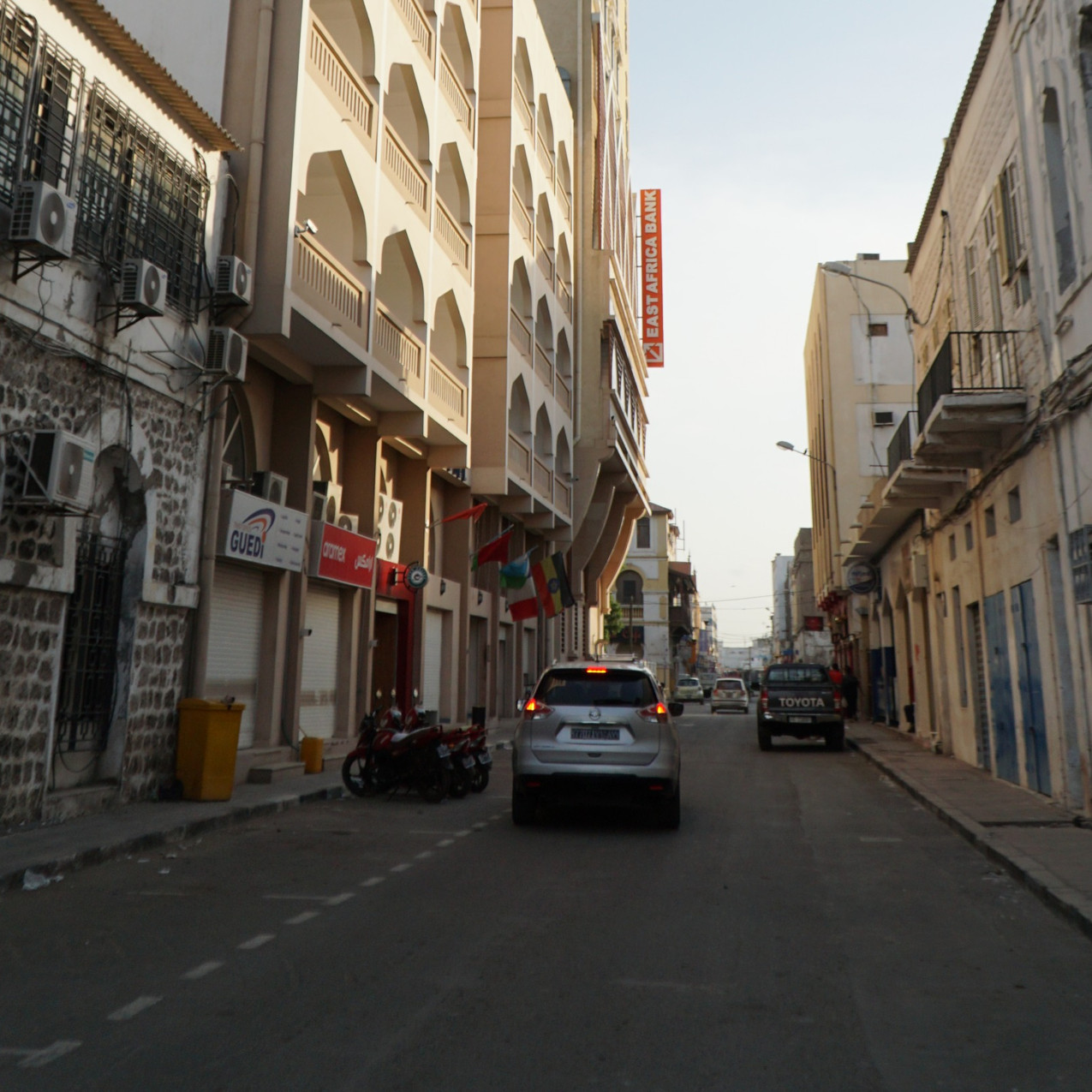 Side Street Location