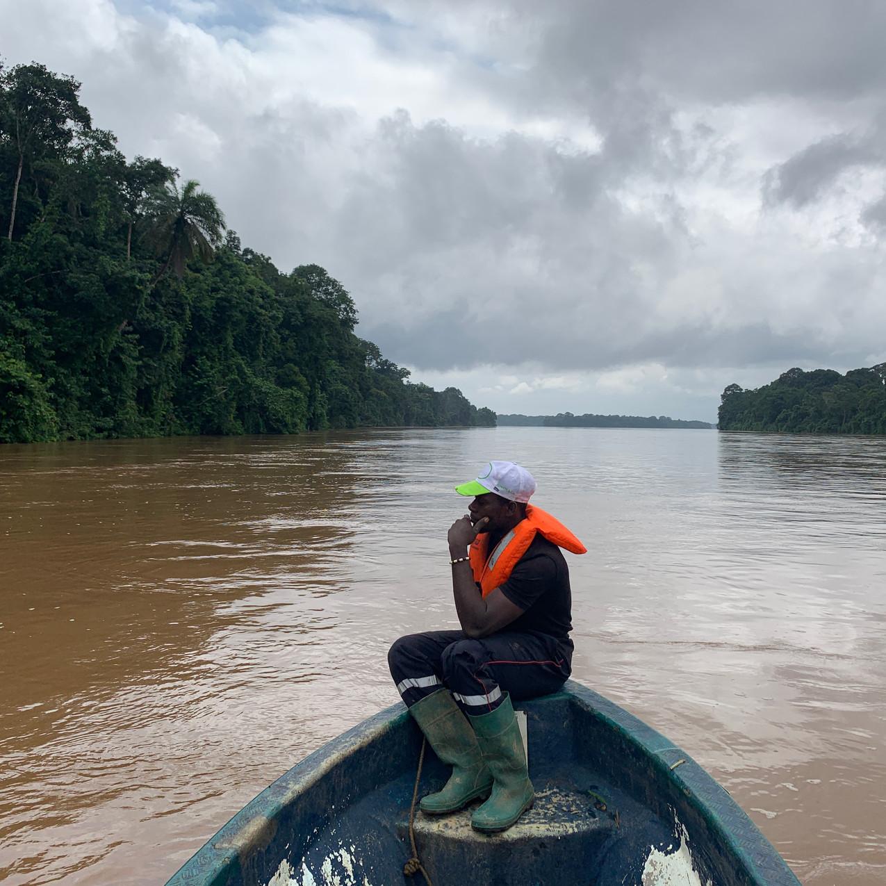 Boat to Pongo Songo