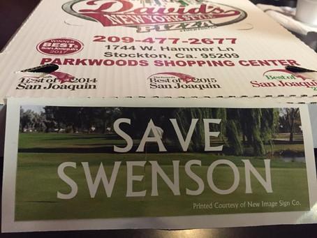 David's Pizza Supports Friends of Swenson