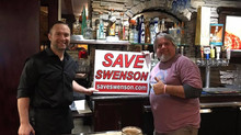 """Octavio's Mexican Restaurant Caught Supporting """"Save Swenson"""" Movement!"""
