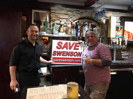 "Octavio's Mexican Restaurant Caught Supporting ""Save Swenson"" Movement!"