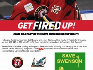 Save Swenson Events Coming Your Way!