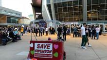 Supporting Swenson Everywhere! Even Sacramento!
