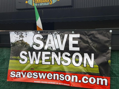 Finnegan's Supports Friends of Swenson