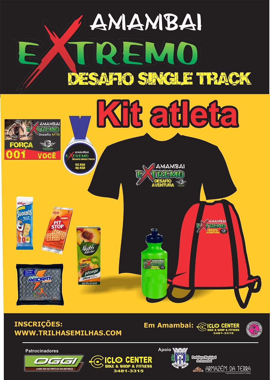Kit do Atleta Completo
