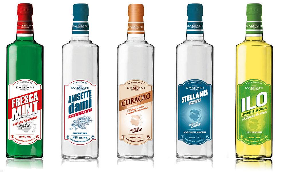DAMIAN Alcool Corse