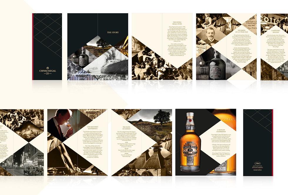 Chivas I Frédérique Mouly Graphiste Freelance Alcool Spiritueux