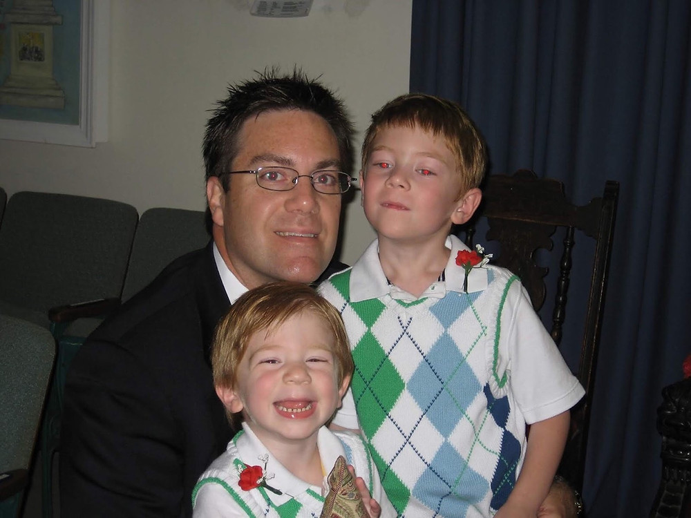 David Brodosi and his boys