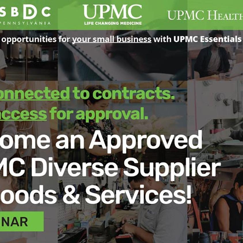 UPMC Essentials for Success [MORNING WEBINAR] – Pennsylvania SBDCs