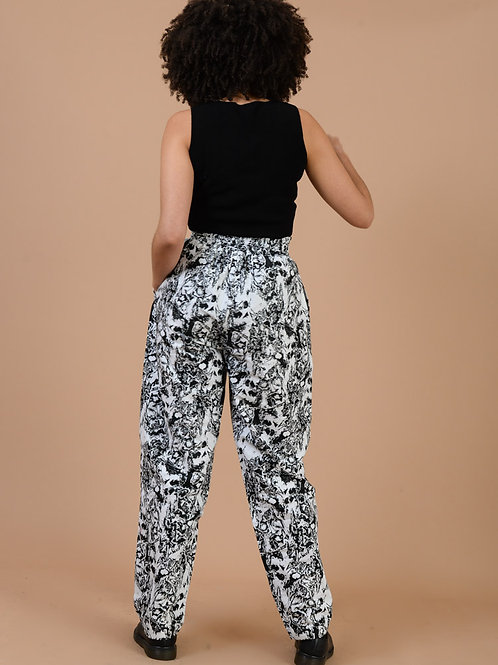 Dem confuse tapered trousers