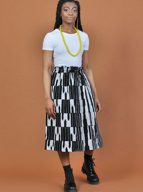 Falda midi ajustable Oba