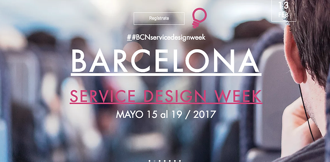 Barcelona Service Design Week 2017