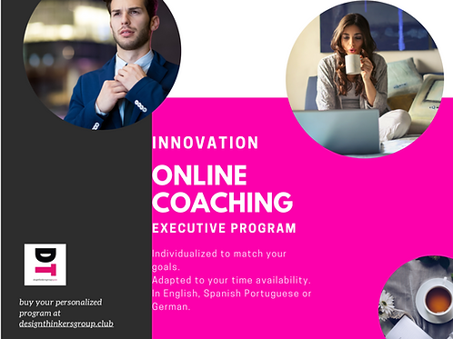 Innovation Executive Online Coaching