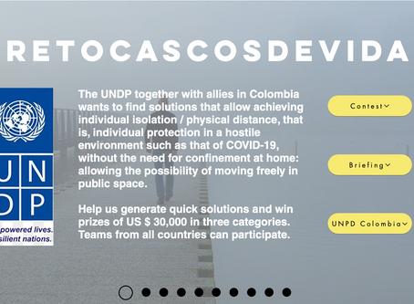 #RetoCascosDeVida en alianza con PNUD