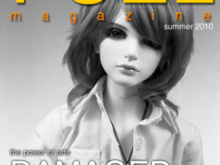 The 2010 Summer Cover of Fuel Magazine is Damaged
