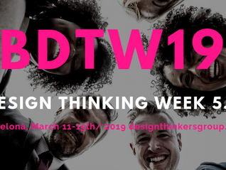 #BDTW19 Design Thinking Week 5.0