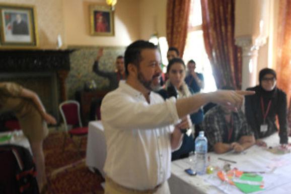 Participando del Global Entrepreneurship Week en Argelia