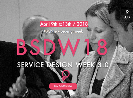 BSDW18  Service Design Week in Barcelona